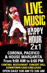 Happy Hour 2x1 9am-6pm