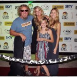 Sammy and family on the red carpet for a surprise show at the Cabo Wabo Cantina in Cabo San Lucas!