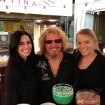 Sammy stopped by the cabo wabo cantina in vegas for a surprise visit!