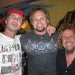 Chad Smith, Michael Anthony, SammyS
