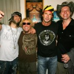 Criss Angel, Sammy, Chad Smith, Ted Nugent
