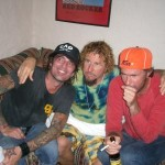Tommy Lee, Sammy, Chad Smith