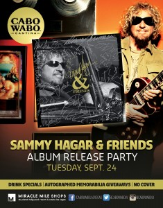 Sammy Hagar and Friends Album Release
